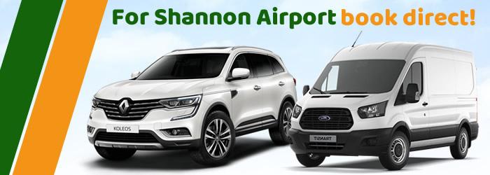 Car And Van Rental Shannon Airport Easirent Ireland